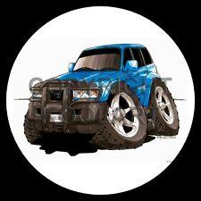Koolart 4x4 4 x 4 Spare Wheel Graphic Toyota Land Cruiser Sticker 1613