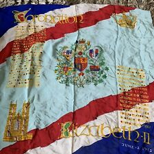 The Queens Coronation 1953 Scarf