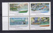 Canada 1991 Piccole imbarcazioni 3 serie 1191-94 MHN