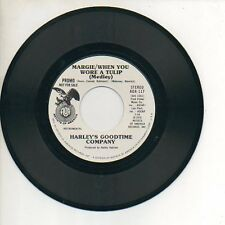 HARLEY'S GOODTIME COMPANY 45  ICE CREAM SODAS / MARGIE WHEN YOU WORE A TULIP M!