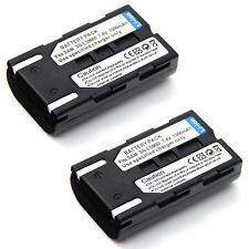 2x 7.4v Battery For SB-LSM80 SAMSUNG VP-D375W VP-D451 VP-D453 VP-D454 VP-D455