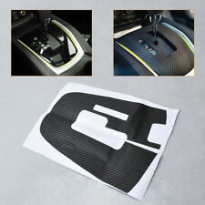For Nissan Rogue/X-Trail AT 2014-2015Carbon Fiber Gear Panel Sticker decal trim