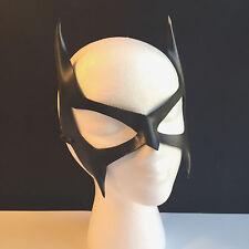 Catwoman Mask Black Leather Mask Batgirl Mask Batman Superhero Halloween CosPlay