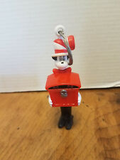 "Dr. Seuss Cat in the Hat Keychain Keyring 5 1/4"" Eyes light up"
