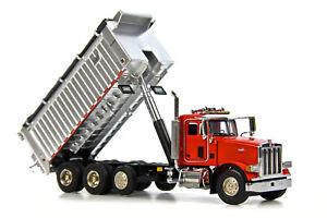 "Peterbilt 357 Dump Truck - ""RED"" - 1/50 - Sword #SW2042R"