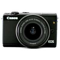 Canon EOS M100 24.2MP CMOS Full HD Mirrorless Digital Camera w/ 15-45mm Lens