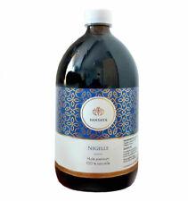 Nigelle - Huile de cumin noir 1L - saveur douce Bio Premium pressée à froid