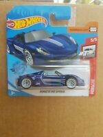 Hot Wheels 2020 - Porsche 918 SPYDER SUPER TREASURE HUNT [BLUE] SHORT CARD