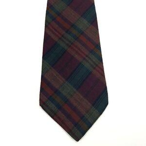 POLO By Ralph Lauren Scottish Style Made By Hand Tie Necktie (Read)