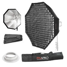 150 cm Griglia 4 cm Easy Open Umbrella Softbox Ezybox Broncolor (B) RACCORDO di 59""