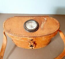WWI Bausch & Lomb Binoculars Case with Compass