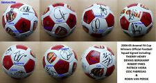 More details for 2004-05 arsenal fa cup winners football squad signed inc henry, bergkamp & pires