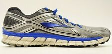 Brooks GTS 16 Mens US 12 EU 46 Silver Athletic Running Training Shoes
