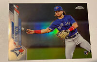 Bo Bichette 2020 Topps Factory Set Chrome Exclusive RC Rookie SP SHARP! 💰💰💰