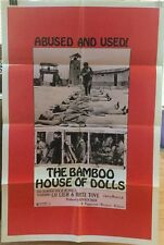 THE BAMBOO HOUSE OF DOLLS MOVIE POSTER RARE, LO LIEH, BIRTE TOVE