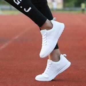 Scarpe da running da ginnastica colore bianco traspiranti e molto leggere TG. 38