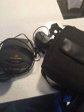 Panasonic Portable Cd Player SL-S205 Anti-Shock Memory XBS Headphones A10