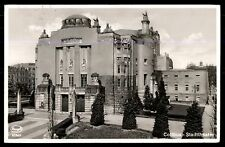 Cottbus Stadtheater old town Germany used postcard