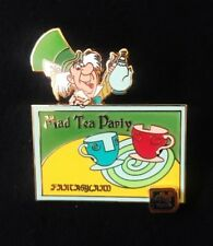 Walt Disney WDW 40th Anniversary Alice in Wonderland Mad Hatter Tea Party Pin