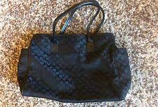 GO. Ladies. Black Shoulder Bag