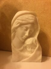 Our Lady and Child Jesus statue Mary Mother Of God Catholic Pope Francis