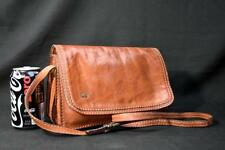Vintage the Bridge 3 Gussets Leather Italian Small Brown Messenger Crossbody Bag