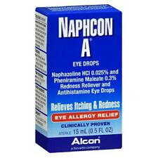 Naphcon A Eye Allergy Relief Drops 15 ml by Alcon