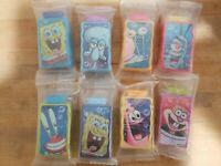 """General Mills Spongebob Squarepants 2.5"""" Wet n' Wacky Summer Water Squirters"""