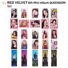 Red Velvet 6th Mini Album Queendom Official Photocard Special Photocard Bookmark