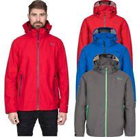 DLX Mens Waterproof Jacket Hiking Camping Raincoat Breathable with Hood