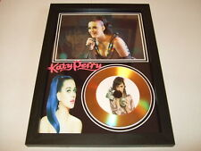 KATY PERRY  SIGNED  GOLD CD  DISC 2