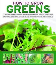 How to Grow Greens: A gardeners guide to growing cabbages, brussels-ExLibrary