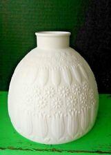Heinrich Vase Nanny Still Finland MCM White Matte Porcelain Bisque OP ART 1960's