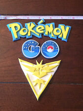 Custom Edible Pokemon Go and Team Cake Topper Decorations Set