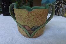 "Weller Pottery Patra Vase 4"" Tall 6"" Wide 1920's Ohio Pottery"