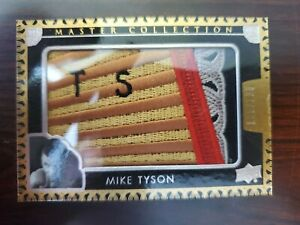 Mike Tyson Master Collection 116/125 - 2015 Upper Deck LC-15- Awesome Card/Rare!