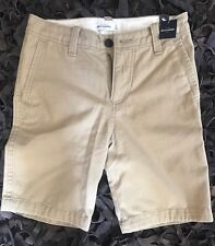 NEW WITH TAGS abercrombie kids Classic Fit Shorts Light Khaki Size 12