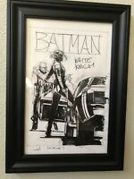 Sean Gordon MURPHY Original Cover Art #7 Batman White Knight Advanced Prelim