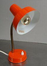 Vintage pop art Design 70s-ancianos biegelampe rojo lámpara lámpara 70er