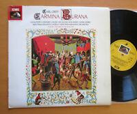 SAN 162 Orff Carmina Burana Lucia Popp De Burgos Angel Stereo NM/EX + insert