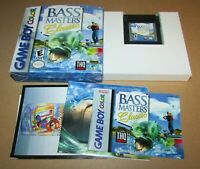 BASS Masters Classic for Game Boy Color Complete Fast Shipping!