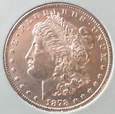 BRILLIANT BU ~ 1878 S Morgan Silver Dollar ~ ESTATE SALE NO RESERVE $1 ~ MS (#1)