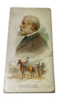 Kinney Tobacco Card Leaders Series General Robert E. Lee Narrow Type