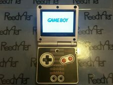 BLACK NES Classic Edition GameBoy Advance SP MINT AGS-101 Bright Nintendo System