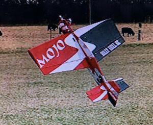 "Nice NIB 2004 MOJO 40 Balsa KIT 46"" Span .45-.60 Designed by Paul Swanson"