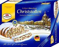 500g Original Dresdner Christstollen Rosinenstollen Stollen Dr. Quendt