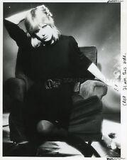MARIANNE FAITHFULL 80s RARE VINTAGE PHOTO ORIGINAL