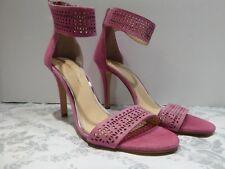 Jessica Simpson Sandal Shoes Pump  Fushia Pink Size 9 M Excellent