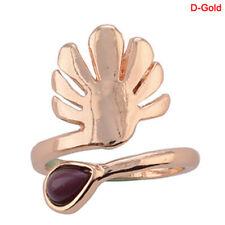 Punk Adjustable Finger Foot Beach JeweSmh Celebrity Silver Flower Toe Ring Women