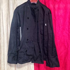 Uncommon Threads XS Black Chefs Coat Black